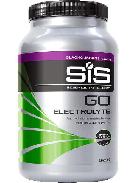 SiS GO Electrolyte Drink Tub 1,6kg, Blackcurrant